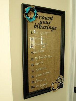 Blessings Board