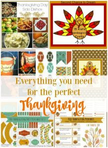 {Everything you need for the perfect Thanksgiving day}