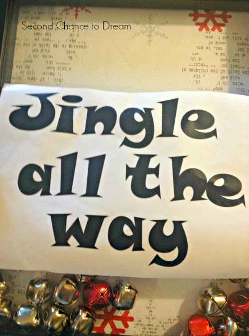 Jingle+Vinyl Jingle All the Way Christmas Decor