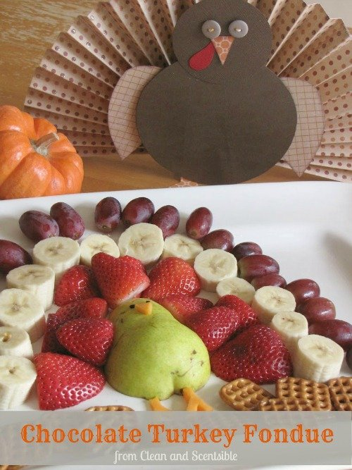 SO cute for the Thanksgiving dessert table!!