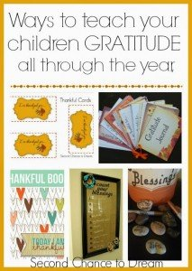 Ways to Teach your Children Gratitude all through the year, not just November