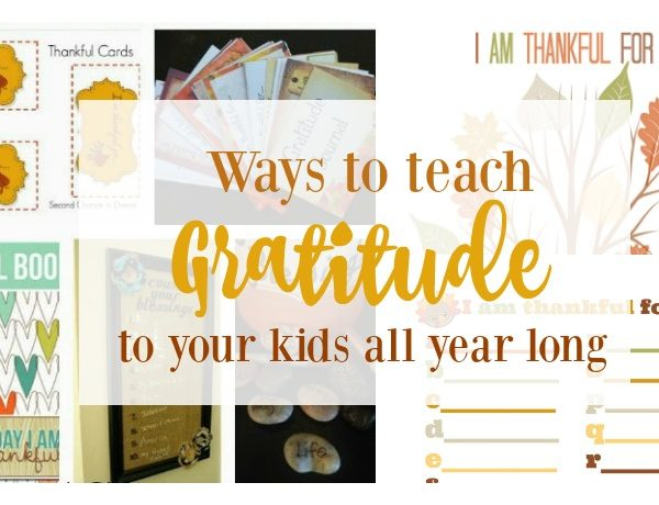 Second Chance to Dream: Ways to teach gratitude