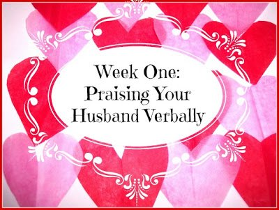 Praising your Husband Verbally