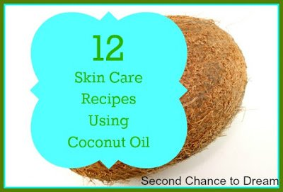 12+Skin+Care+Recipes+Using+Coconut+Oil {Featured On}