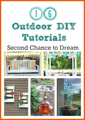 Second Chance to Dream: DIY Lamp Birdbath #outdoordiy