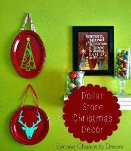 DIY Dollar Store Christmas Decor