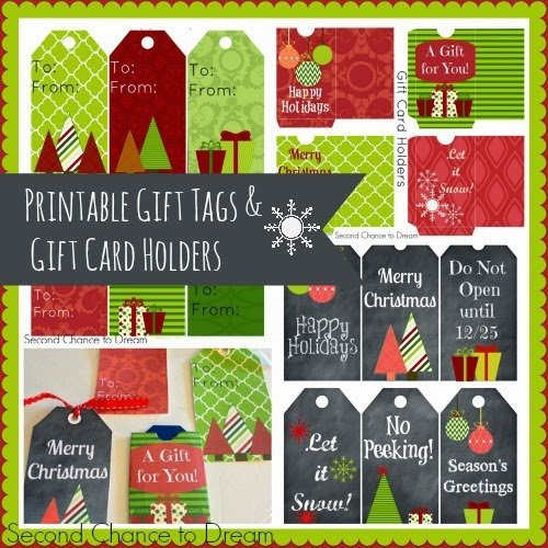 graphic about Printable Gift Card Holder identified as Minute Probability Towards Aspiration - No cost Printable Present Tags Reward