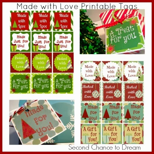 Second Chance to Dream: Made with Love Gift Tags