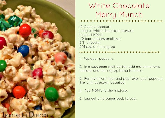 Second Chance to Dream White Chocolate Merry Munch
