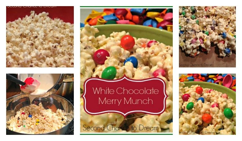 Second Chance to Dream: White Chocolate Merry Munch