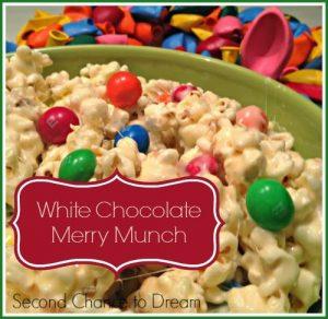 White Chocolate Merry Munch
