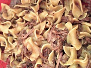Mouthwatering Crock Pot Beef & Noodles