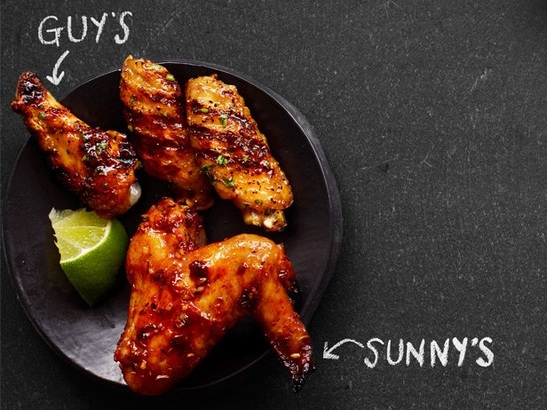 Picture of Guy Fieri's Tequila-Lime Wings Recipe