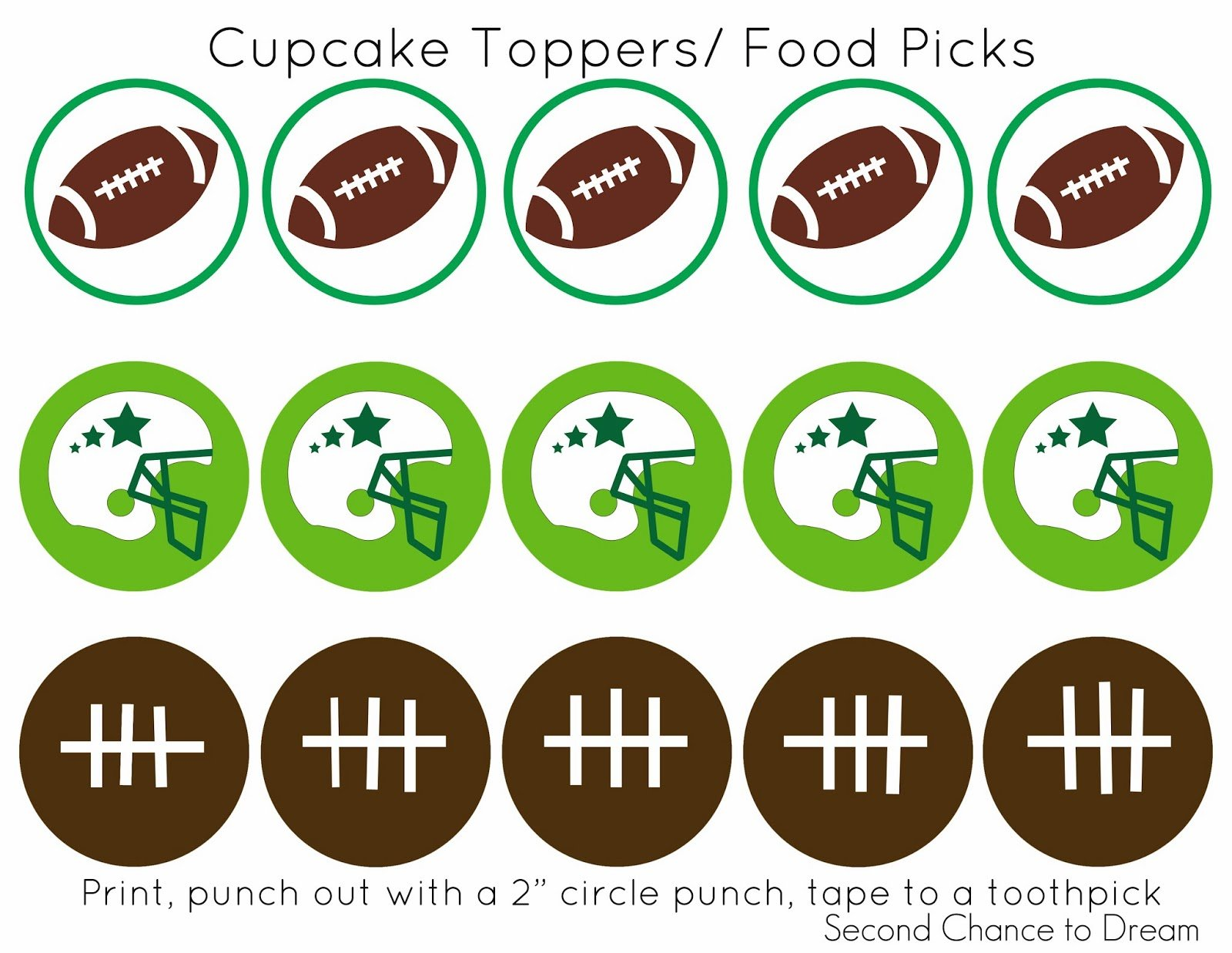 Are you ready for some football??? Free Football Party Printables