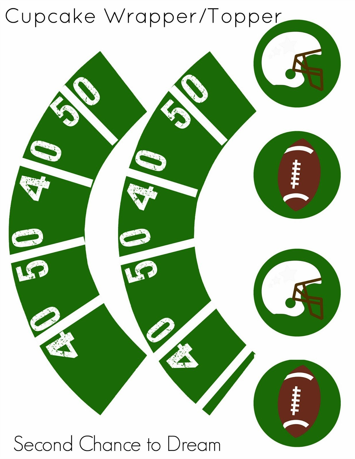 Football+Cupcake+Holder+2+copy Football Party Printables  Think Super Bowl!