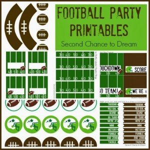 Football Party Printables-