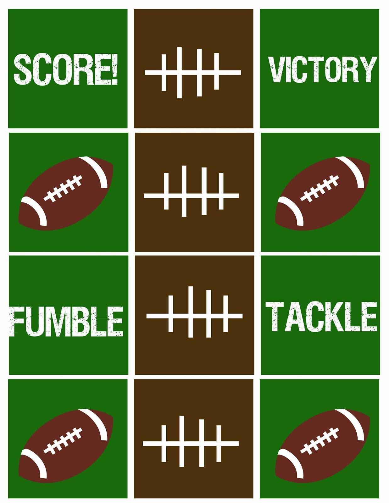 Football+Squares+copy Football Party Printables  Think Super Bowl!