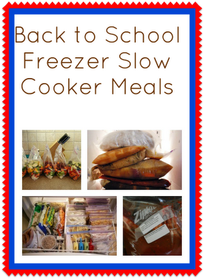 Freezer+Slow+Cooker+Meals {Featured On}