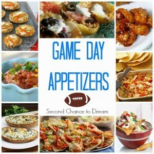 Second Chance to Dream: Game Day Appetizers