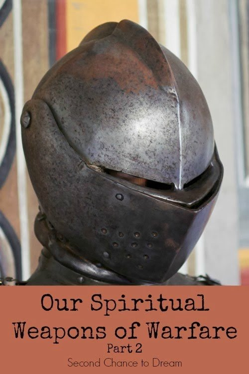 Second Chance to Dream: Our Spiritual Weapons of Warfare pt. 2 #scripture