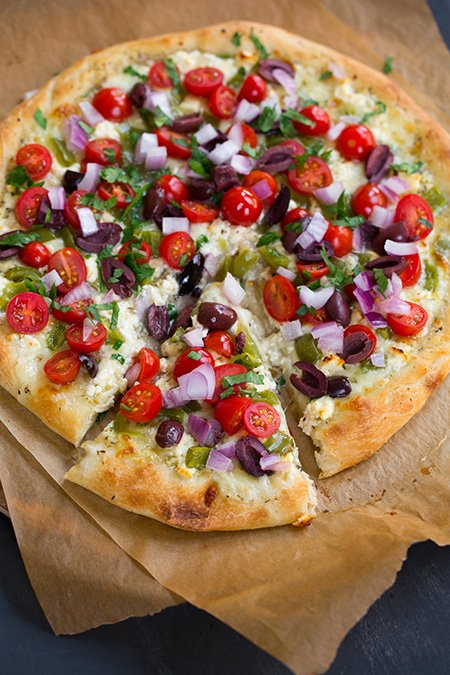 Greek Pizza | Cooking Classy