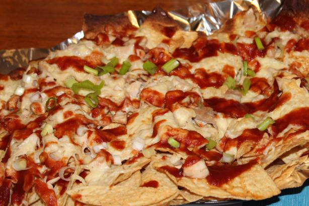 Barbecue Chicken Nachos. Photo by Boomette