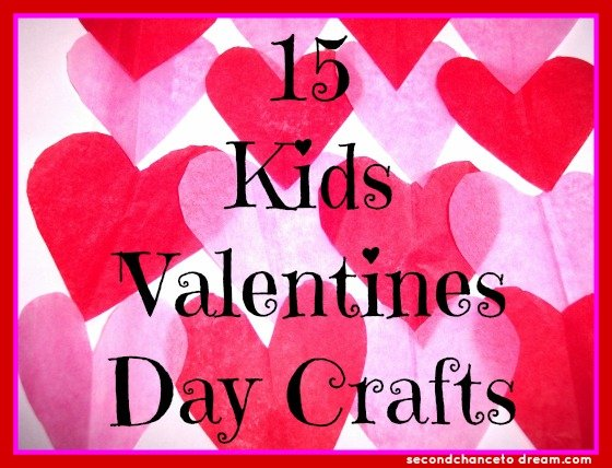 15+Kids+Valentines+Day+Crafts 15 Kids Valentines Day Crafts