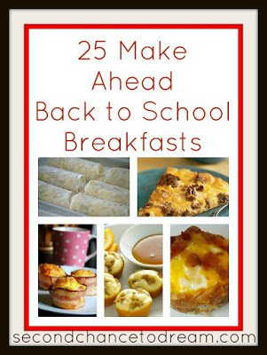 Second Chance to Dream: 25 Make Ahead Breakfasts