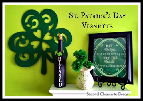 Second Chance to Dream: St. Patrick's Day Vignette #stpatricksday