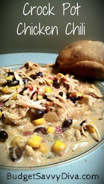 Crock Pot Chicken Chili Recipe