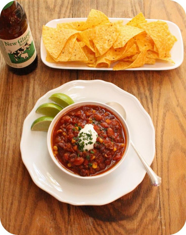 » Vegan Slow Cooker Chili