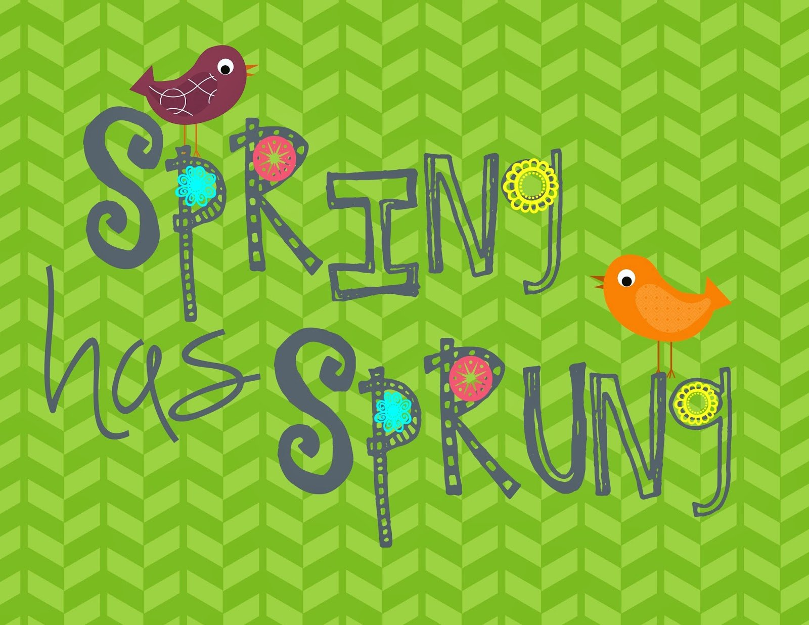 Second Chance to Dream: Spring has Sprung #freeprintable #spring