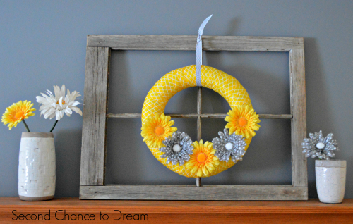 Second Chance to Dream: DIY Spring Mantel