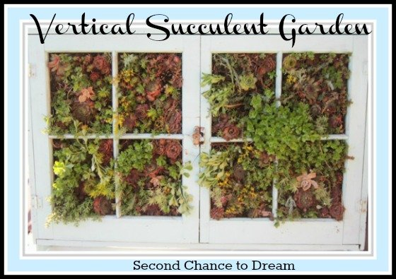vertical+garden+filled+in Vertical Succulent Gardening Tutorial