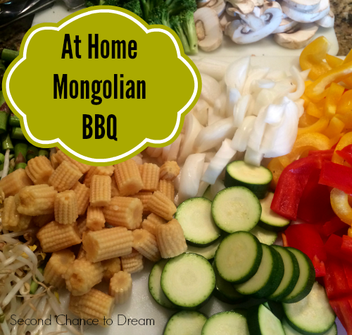 Second Chance to Dream: At Home Mongolian BBQ #cleaneating