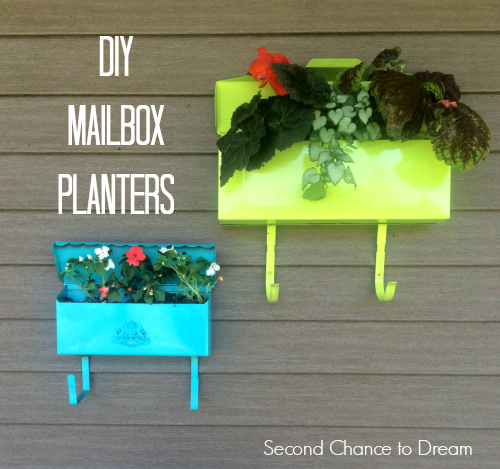Second Chance To Dream Diy Mailbox Planters