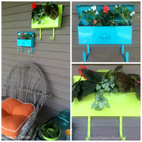 Mailbox+Collage DIY Mailbox Planters