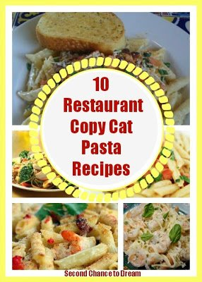 10+Copy+Cat+Restaurant+Pasta+Recipes {Featured On}