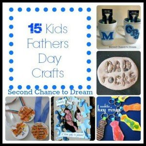 15+Fathers+Day+Kids+Crafts 300x300 {Featured On}