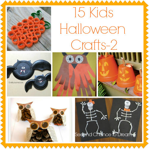 15 Kids Halloween Crafts {Featured On}