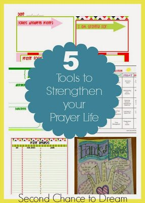 5+Tools+to+Strengthen+your+prayer+life {Printables}