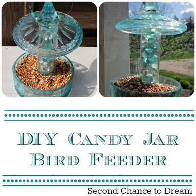 Candy+Jar+Feeder {Tutorials}