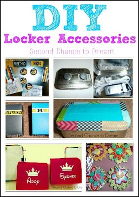 DIY+Locker+Accessories {Featured On}