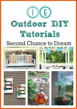 DIY Outoor Projects 250x352 {Featured On}