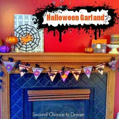 Halloween Garland by Second Chace to Dream