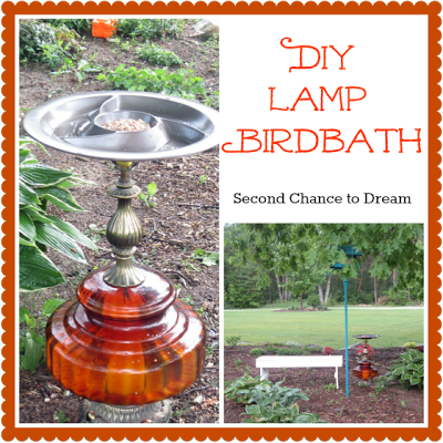 Lamp+Birdbath {Tutorials}