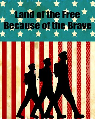 Second Chance to Dream: Land of the Free Printable #printable