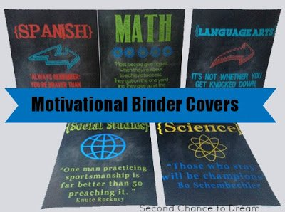 Motivational+Binder+Covers {Printables}