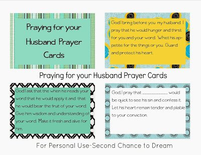 Praying+for+Your+Husband {Printables}