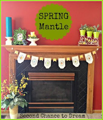Spring+Mantel+2 {Featured On}